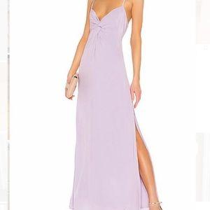 Revolve CAPULET Knot Front Maxi Dress